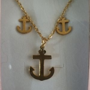 Stainless steel anchor set